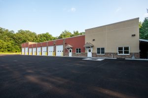 Image of new fire station building.
